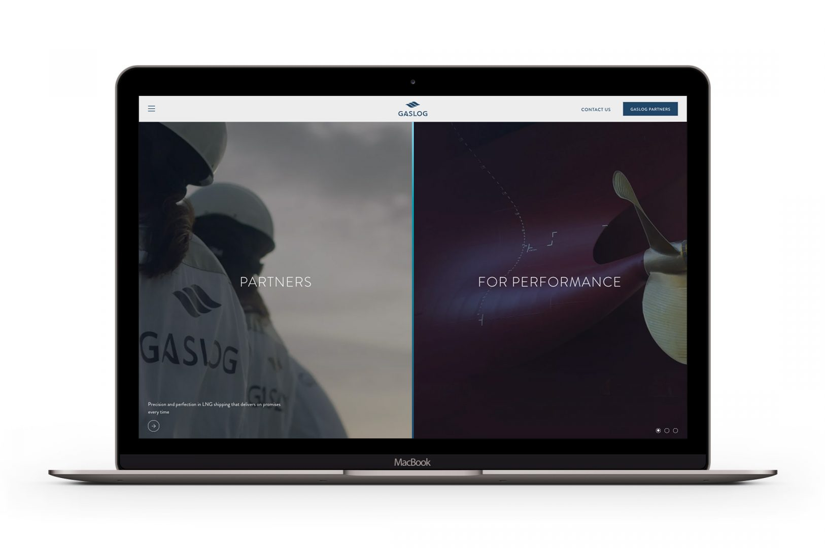 Gaslog-Macbook-Homepage